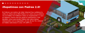 Infobus Habbo y ONG Padres 2.0
